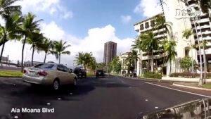 ハワイのドライビング動画